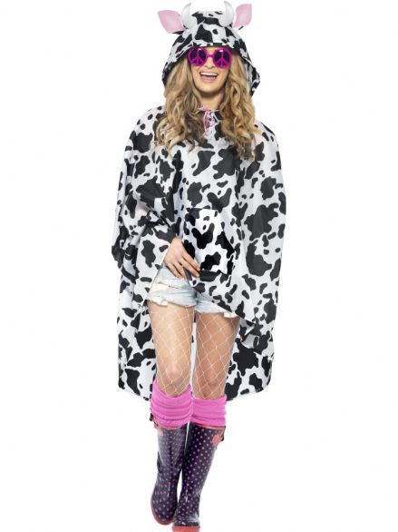 Party Poncho - Cow